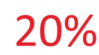 Restbestände -20%