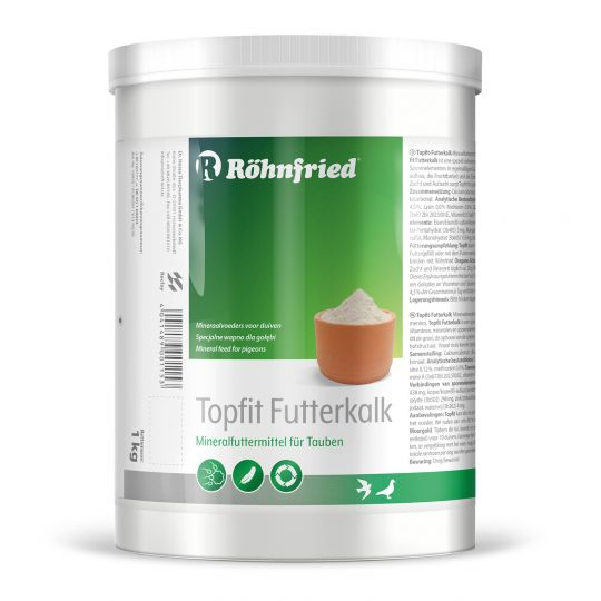Röhnfried Topfit-Spezial-Futterkalk 1000g