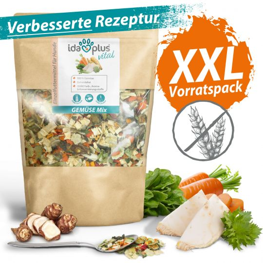 Ida Plus Gemüse Mix 1000g