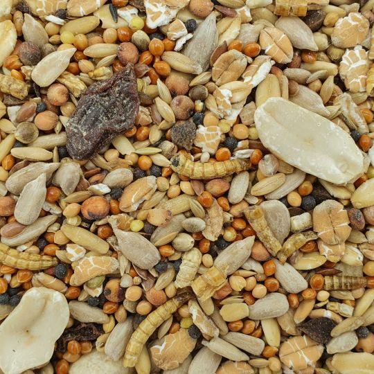 Gevo Wildvogelfutter 25kg mit Insekten
