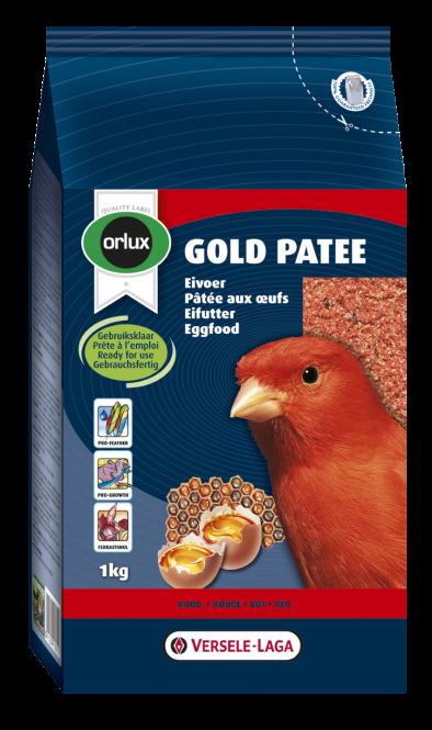 Orlux Gold Patee für Kanarien Rot 1000g