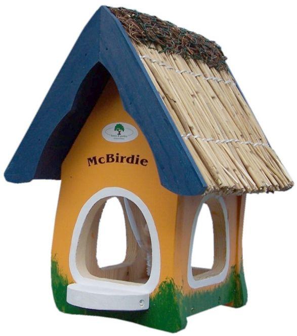 futterhaus mcbirdie mit silo futtermittel online shop. Black Bedroom Furniture Sets. Home Design Ideas