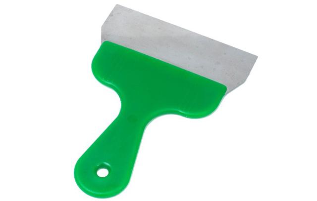 Handspachtel mit Kunststoffgriff 16cm