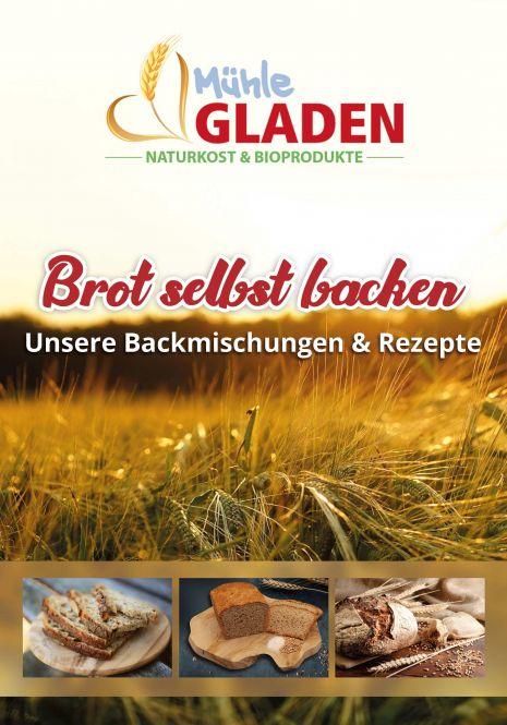 Rezeptheftchen - Gladen - Brot selbst backen