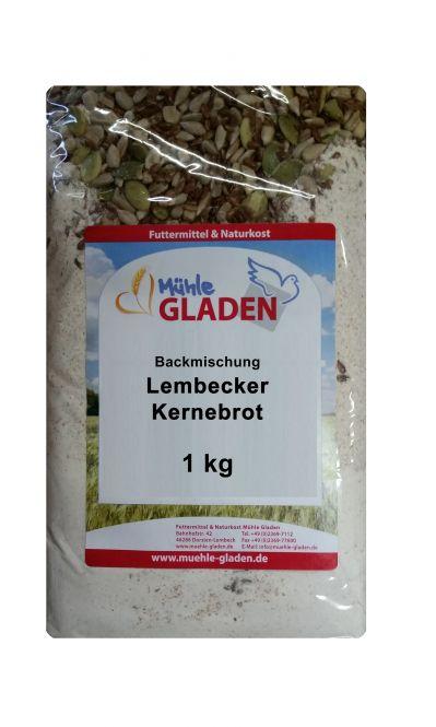 Lembecker Kernebrot - Backmischung 1000g