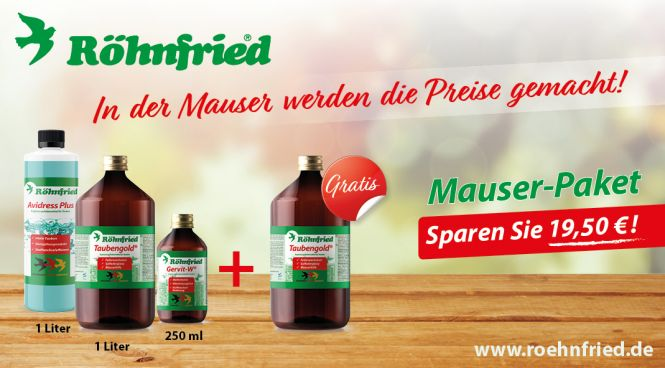 Röhnfried Mauserpaket 2018