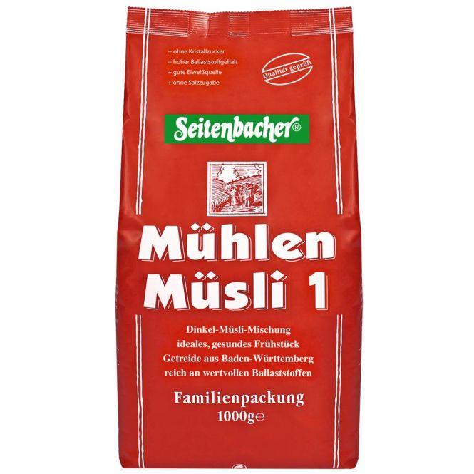 Seitenbacher Mühlen-Müsli 1 - Dinkel 1000g