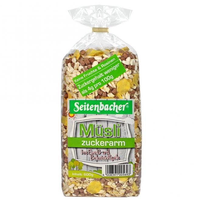 Seitenbacher Müsli Zuckerarm 600g